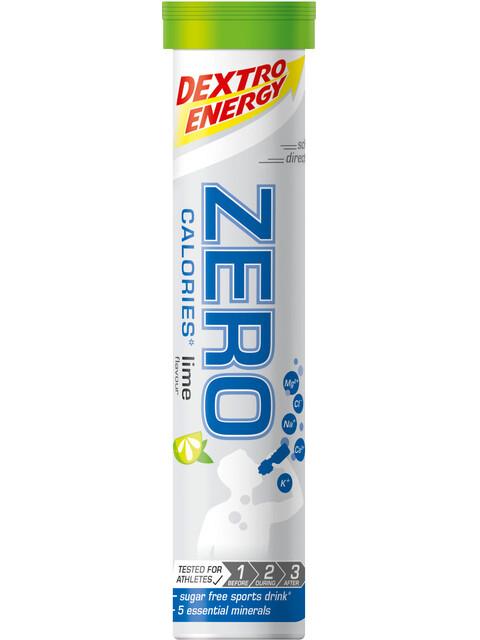 Dextro Energy Zero Calories Electrolytes Tube Limette 20 Tabs